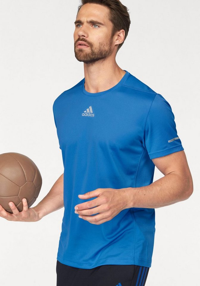 adidas Performance Laufshirt »SEQUENCIALS CC SHORT SLEEVE« in blau