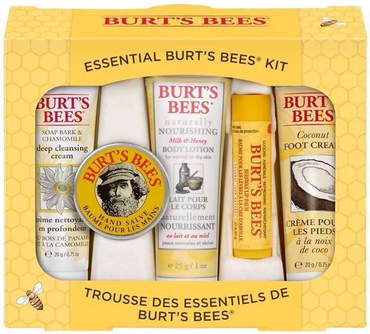 Burt's Bees, »Essential Burt's Bees Kit«, Kennenlernset 5-tlg.