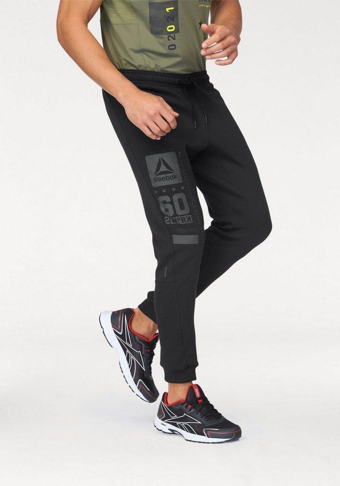 Reebok Jogginghose »ONE Series QUIK COTTON Jogger« in schwarz