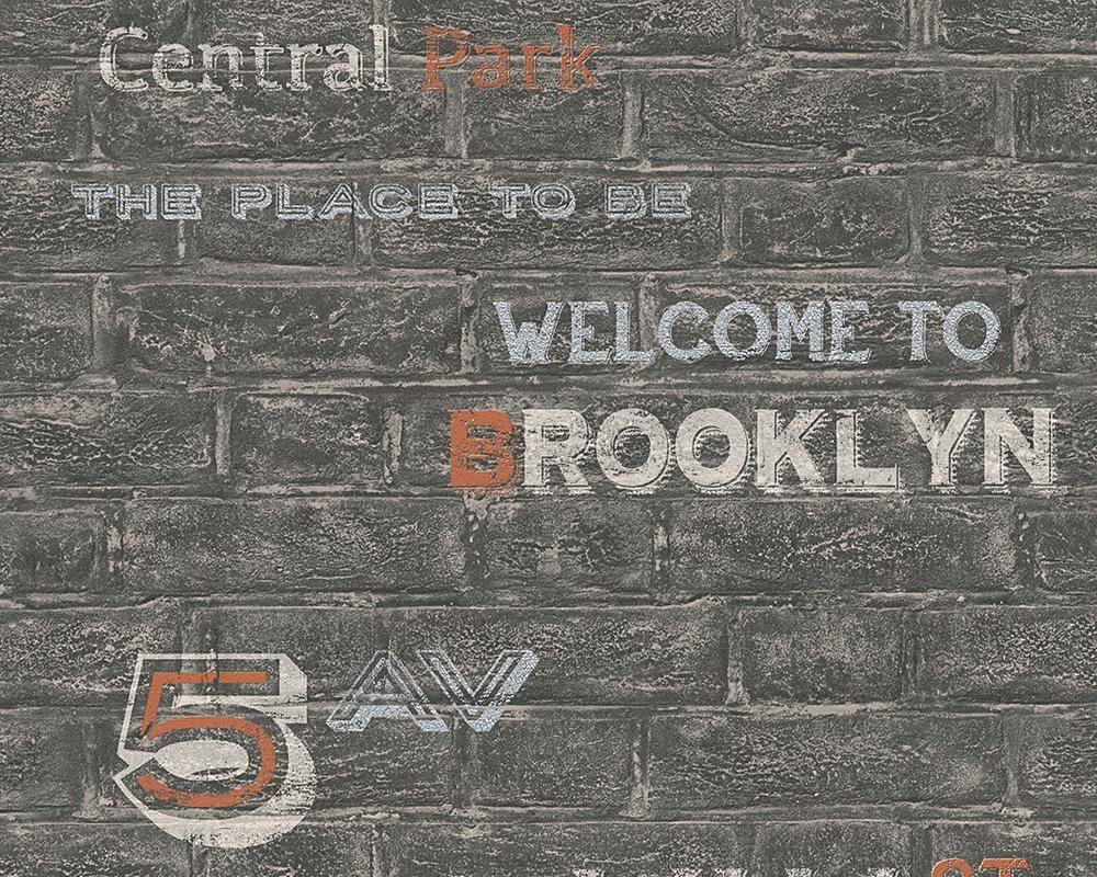 Papiertapete, Livingwalls, »Mustertapete Boys and Girls 5- Brooklyn«