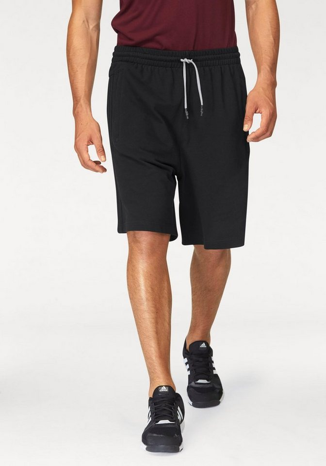 adidas Performance Shorts »ID HEATHER KNIT SHORT« in schwarz
