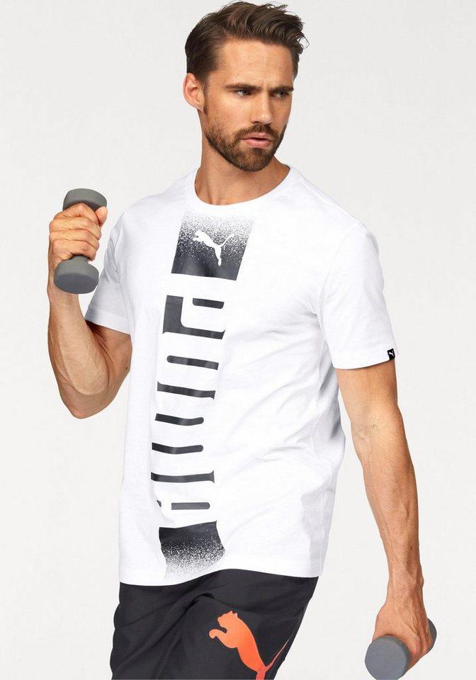 PUMA T-Shirt »Rebel Tee« in weiß