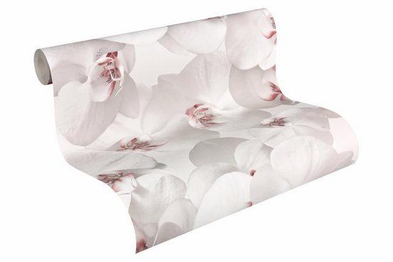 Papiertapete »Authentic Walls«, floral, 3D-Optik, FSC®, RAL-Gütezeichen