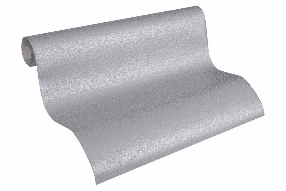 Vliestapete, Architects Paper, »Unitapete AP 2000 Magnet Design by F.A. Porsche« in grau, metallic