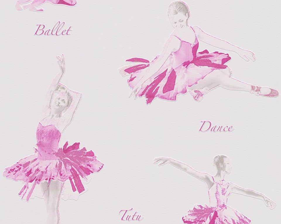 Papiertapete, Livingwalls, AG, »Mustertapete Boys and Girls 5« in creme, metallic, rosa