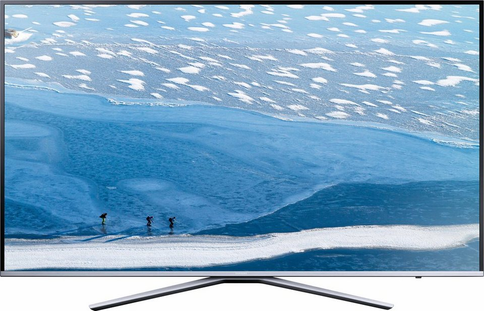 Samsung UE43KU6409UXZG, LED Fernseher, 108 cm (43 Zoll), 2160p (4K Ultra HD), Smart-TV in silberfarben