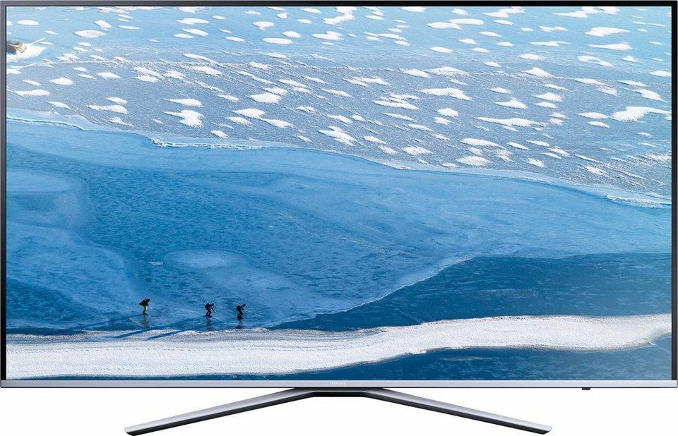 Samsung UE55KU6409UXZG, LED Fernseher, 138 cm (55 Zoll), 2160p (4K Ultra HD), Smart-TV in silberfarben