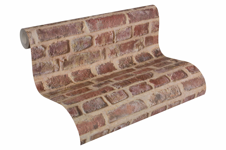 Papiertapete, livingwalls, »Mustertapete Authentic Walls Steinoptik«