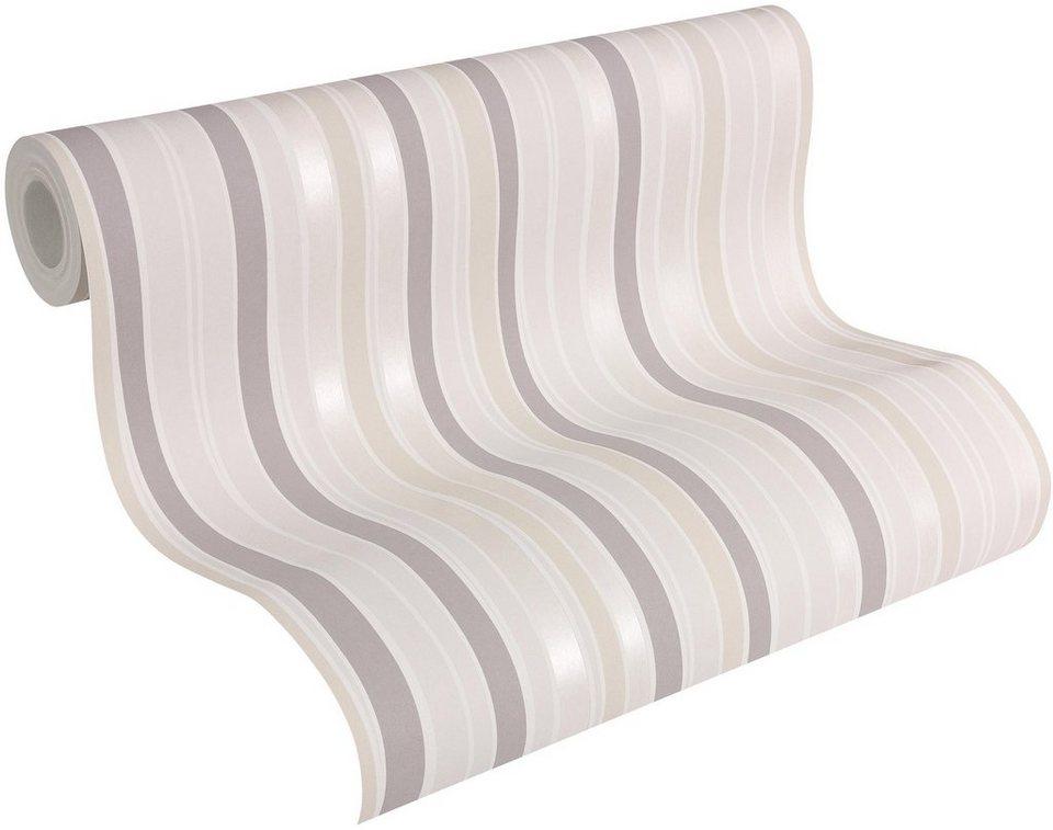 vliestapete esprit streifentapete esprit 11 deep summer online kaufen otto. Black Bedroom Furniture Sets. Home Design Ideas