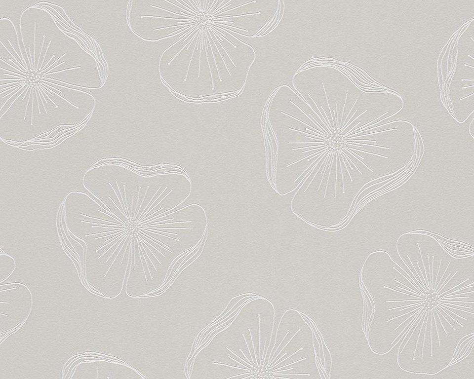 Vliestapete, Schöner Wohnen, »Mustertapete Schöner Wohnen 8« in braun, grün, metallic