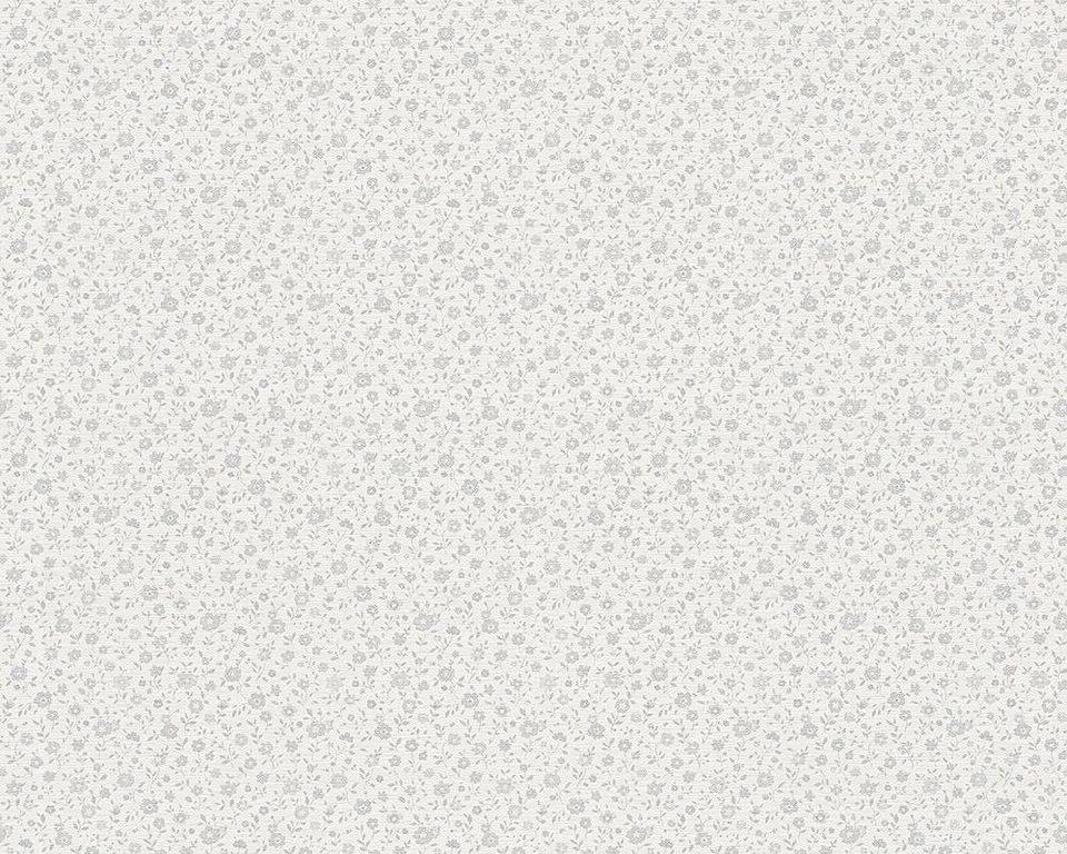 vliestapete livingwalls mustertapete libert shabby chic online kaufen otto. Black Bedroom Furniture Sets. Home Design Ideas