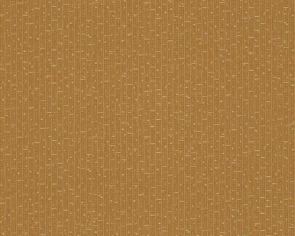 Vliestapete, Versace, »Unitapete Versace 2 Greek« in gelb, metallic