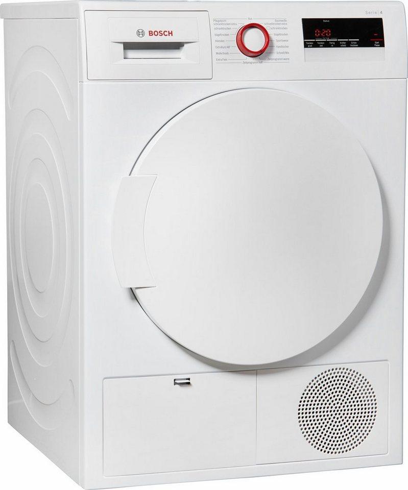 BOSCH Trockner WTH832V8, A++, 7 kg in weiß