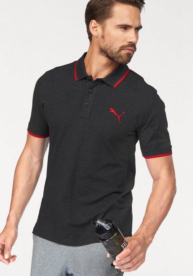 PUMA Poloshirt »Sports Polo« in anthrazit