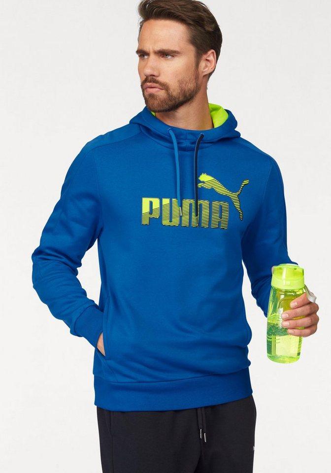 PUMA Kapuzensweatshirt »Sports Logo Hoody« in blau