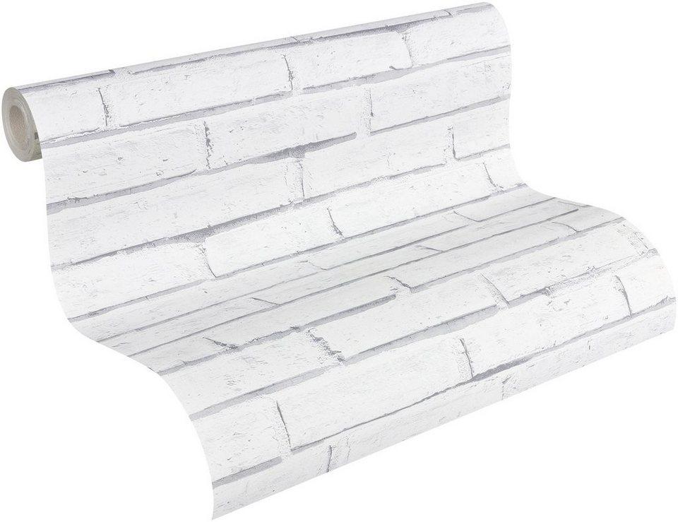 papiertapete livingwalls mustertapete authentic walls. Black Bedroom Furniture Sets. Home Design Ideas