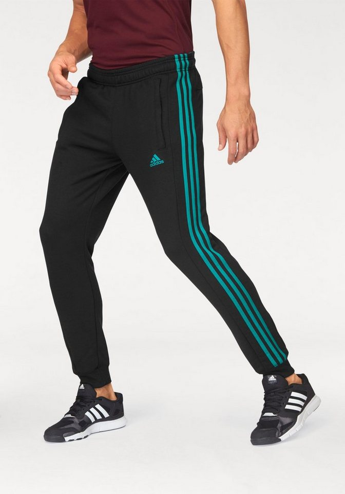 adidas Performance Jogginghose »TAPERED AUTHENTIC 1.0 PANT« in schwarz-grün