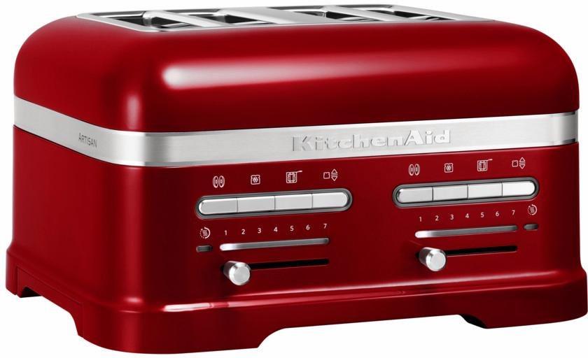 KitchenAid Toaster »Artisan 5KMT4205ECA«, für 4 Scheiben, liebesapfelrot in liebesapfelrot