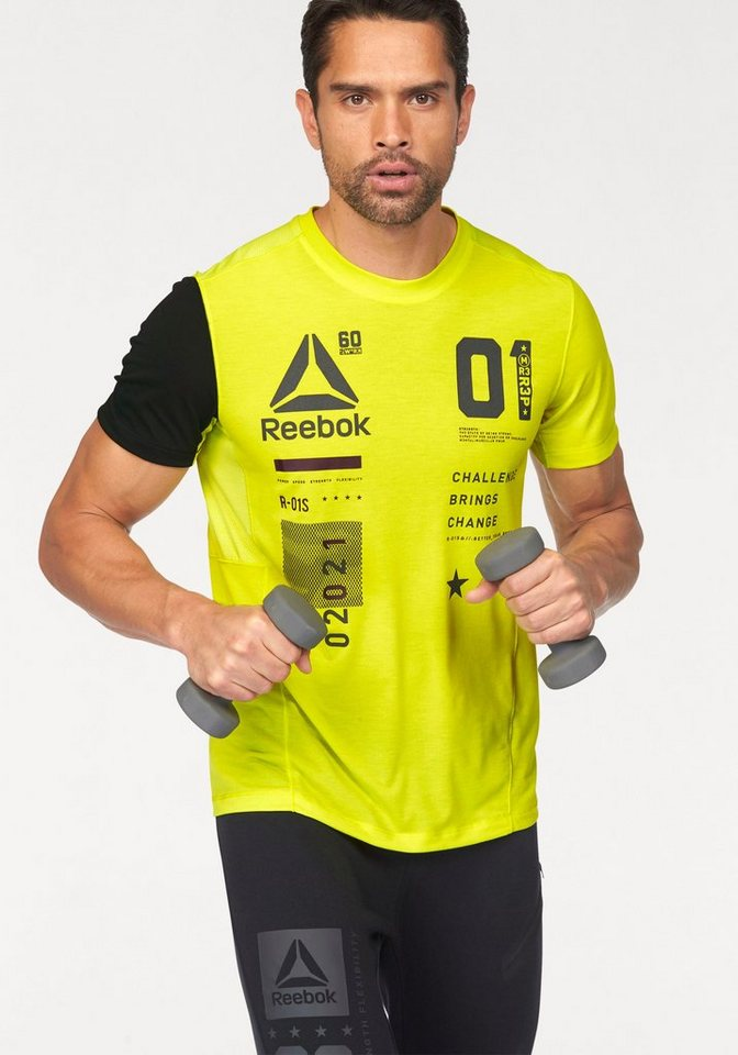 Reebok Funktionsshirt »One Series ActivChill Breeze« in limette