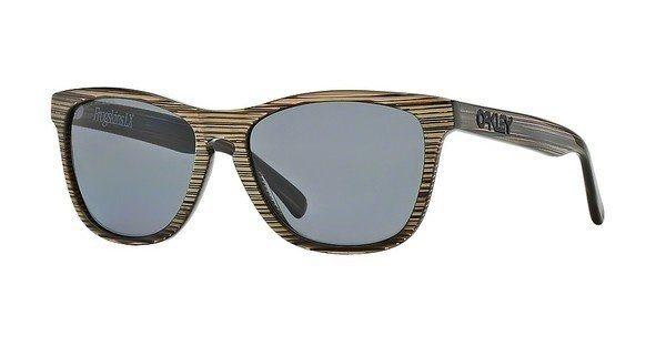 Oakley Herren Sonnenbrille »FROGSKINS LX OO2043« in 204309 - braun/grau