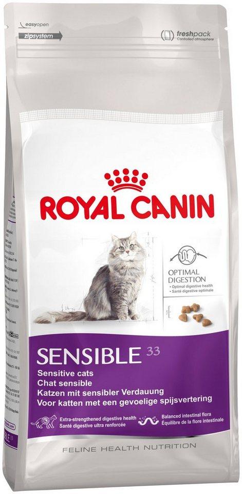 Katzentrockenfutter »Sensible 33«, 2 kg, 4 kg oder 10 kg in braun