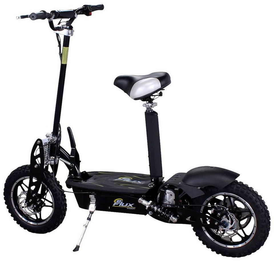 E-Scooter »Vision«, 1000 Watt, 30 km/h in schwarz
