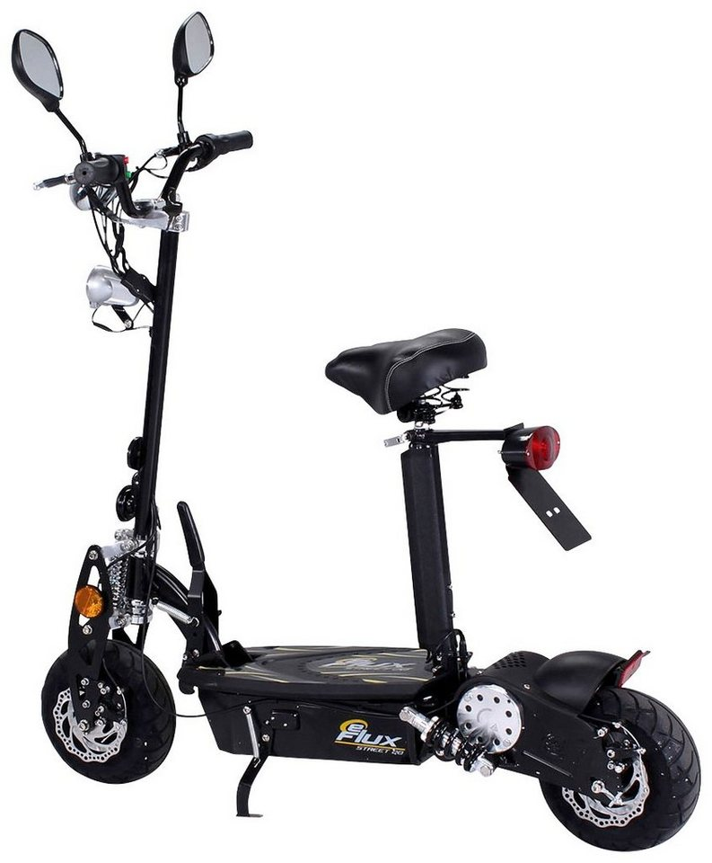 E-Scooter »Street 20«, 500 Watt, 20 km/h in schwarz
