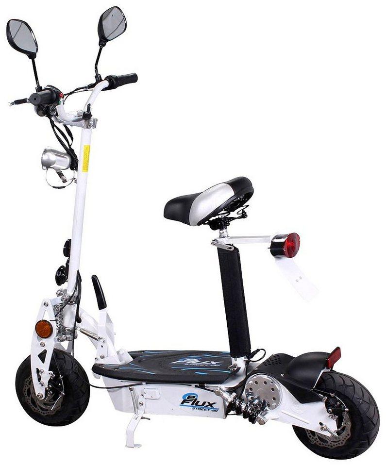 E-Scooter »Street 20«, 500 Watt, 20 km/h in weiß