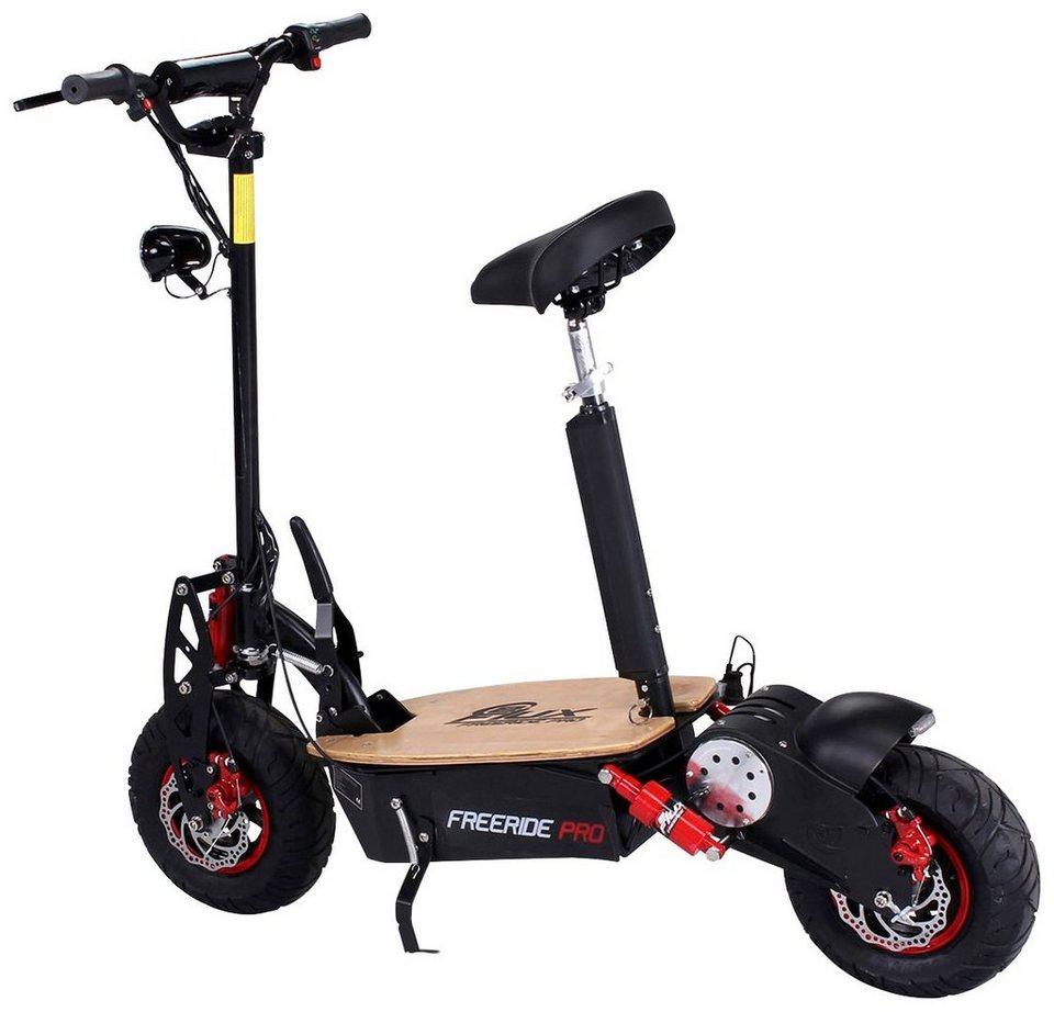 E-Scooter »Freeride PRO«, 1600 Watt, 50 km/h in schwarz
