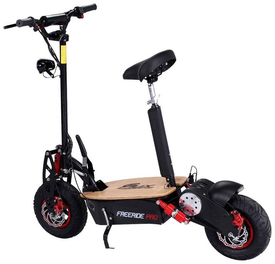eflux elektroscooter freeride pro 1600 watt 50 km h. Black Bedroom Furniture Sets. Home Design Ideas