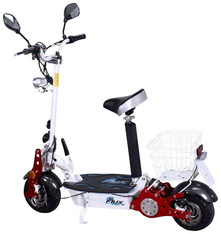 E-Scooter »Street 40«, 800 Watt, 35 km/h in weiß