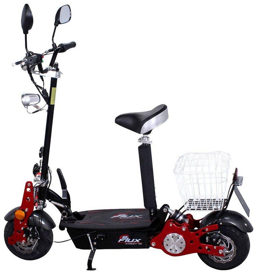 E-Scooter »Street 40«, 800 Watt, 35 km/h in schwarz
