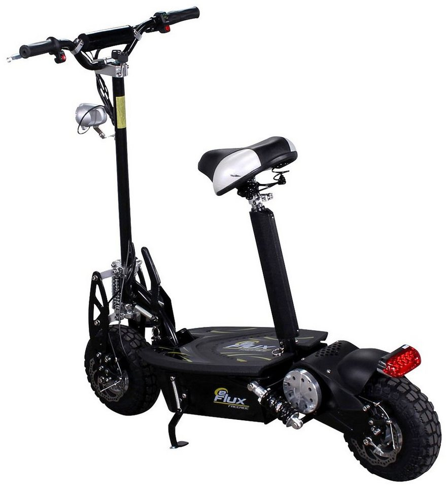 E-Scooter »Freeride«, 1000 Watt, 35 km/h in schwarz