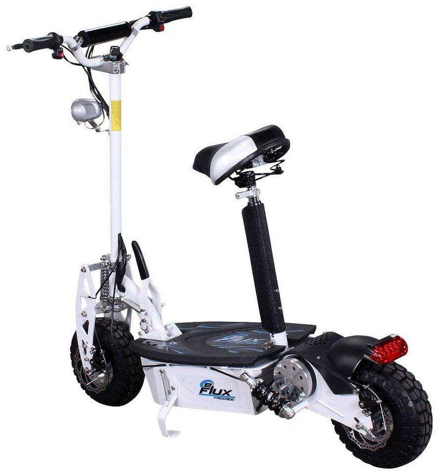 Eflux E-Scooter »Freeride«, 1000 Watt, 35 km/h in weiß