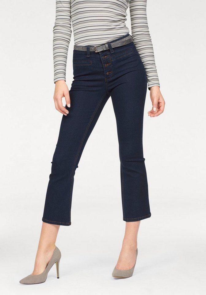 Arizona 7/8-Jeans Kick-Flare in rinsed