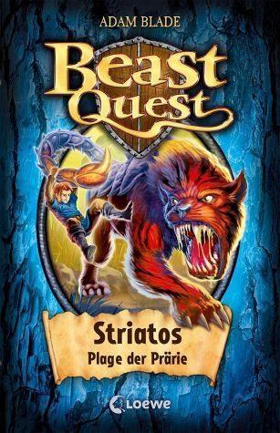 Gebundenes Buch »Striatos, Plage der Prärie / Beast Quest Bd.44«