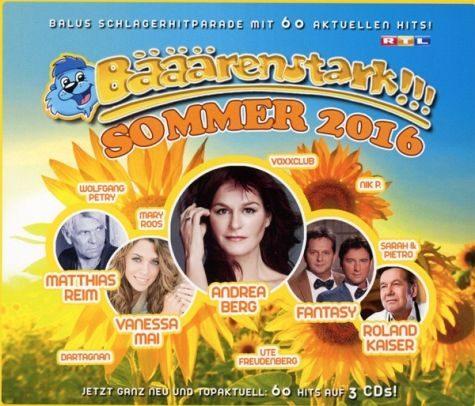 Audio CD »Diverse: Bääärenstark!!! Sommer 2016«