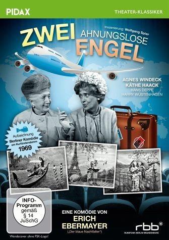 DVD »Zwei ahnungslose Engel«