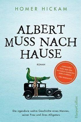 Gebundenes Buch »Albert muss nach Hause«