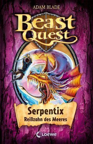 Gebundenes Buch »Serpentix, Reißzahn des Meeres / Beast Quest...«