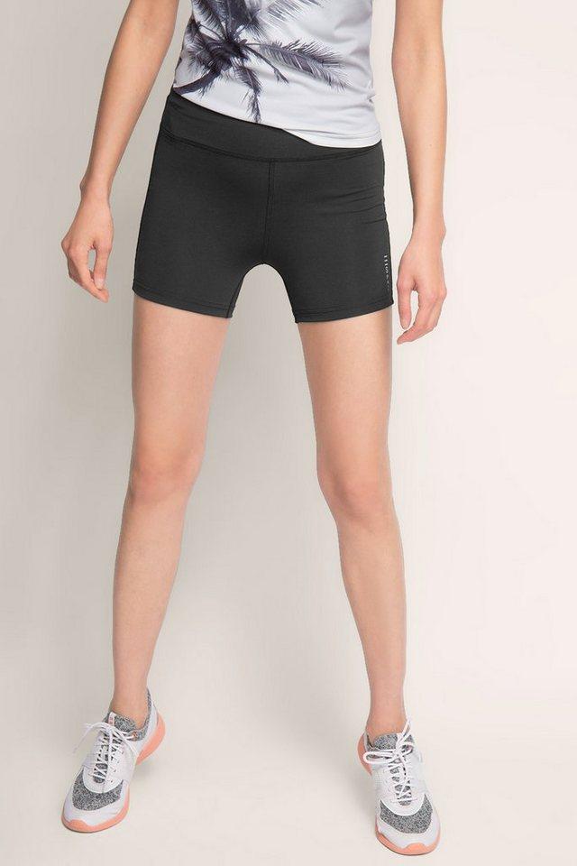 ESPRIT Funktions Jersey Sport Shorts in BLACK