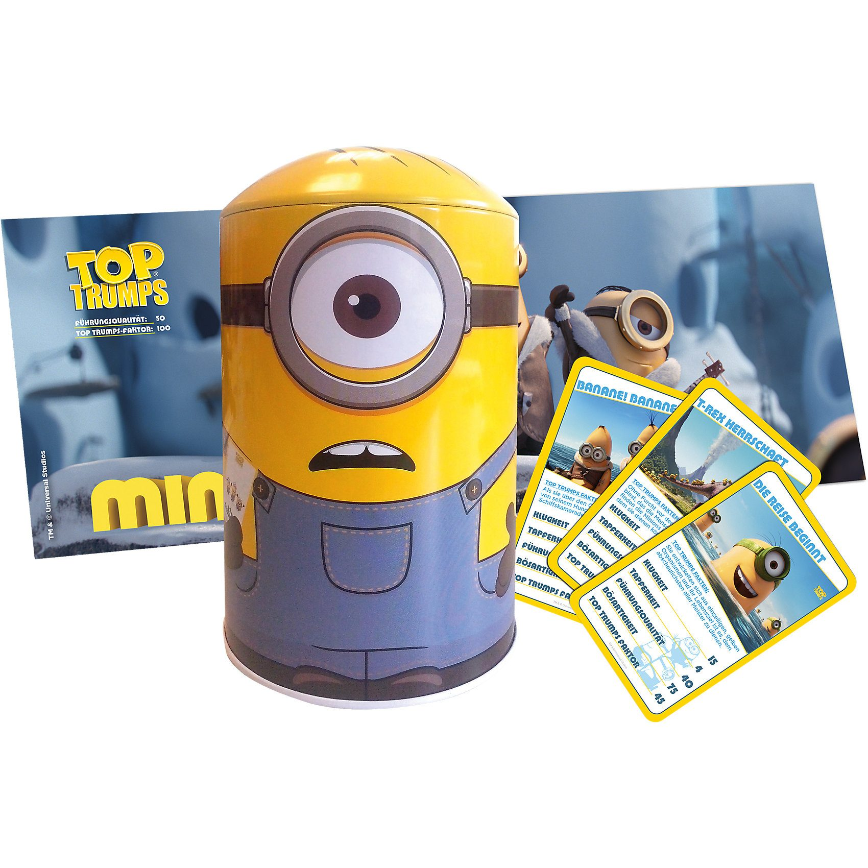 Winning Moves Top Trumps Minions Tin