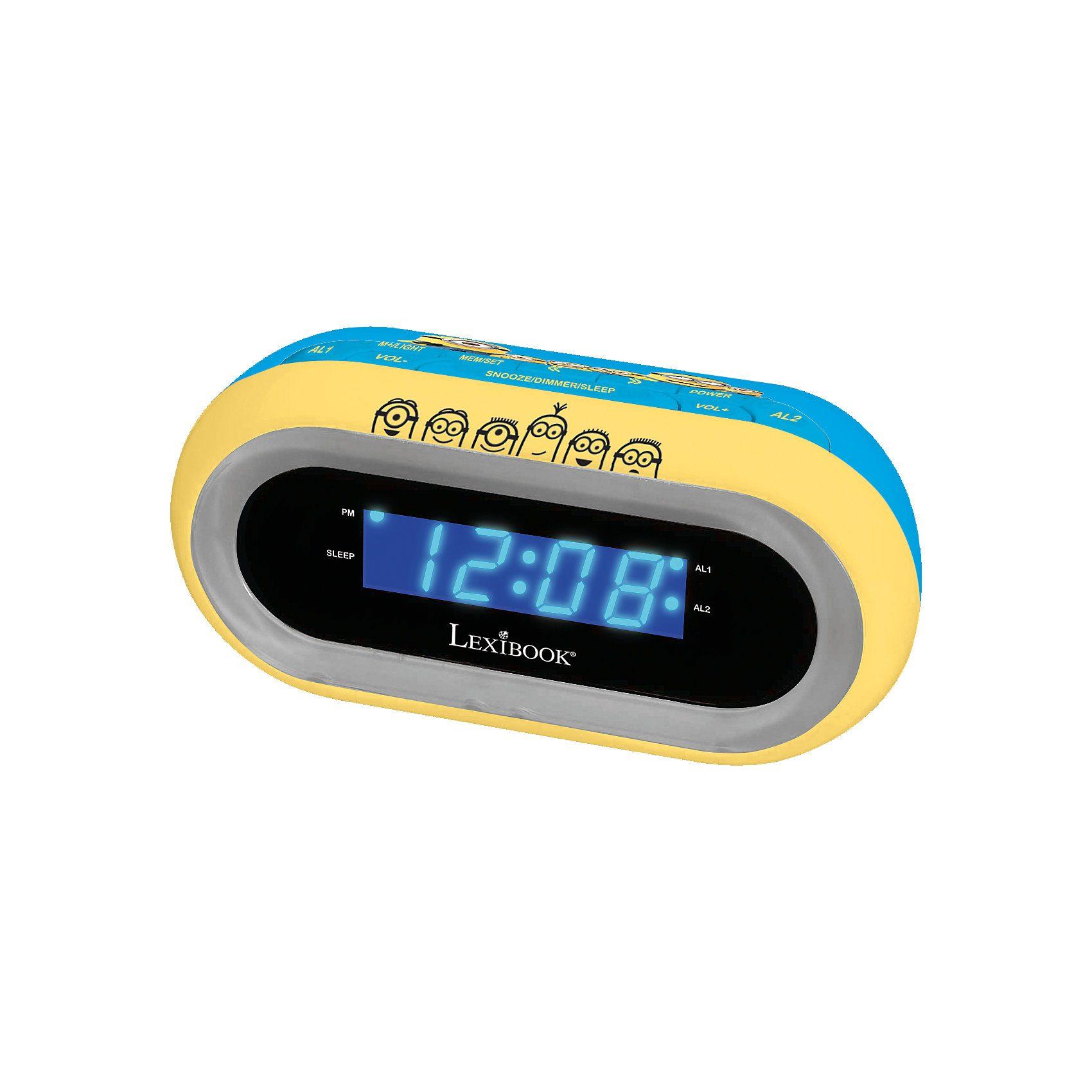 Lexibook® Radiowecker mit Licht Minions
