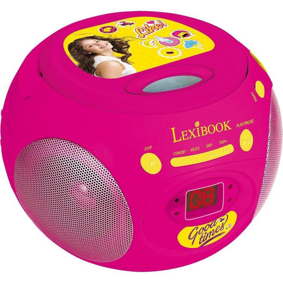 LEXIBOOK Radio CD Boombox Soy Luna