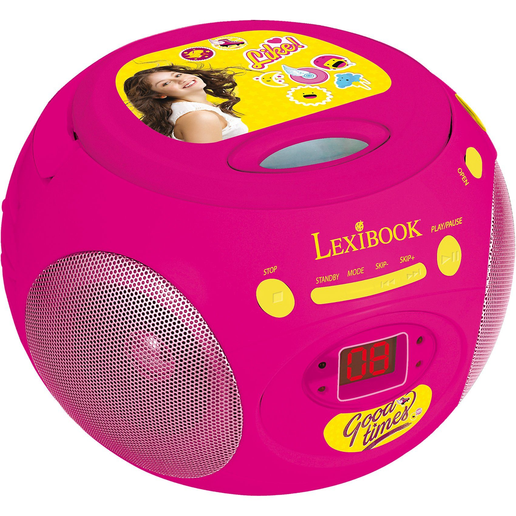 LEXIBOOK Soy Luna CD-Player mit Radio