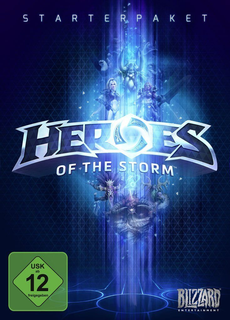 Blizzard PC - Spiel »Heroes of the Storm«