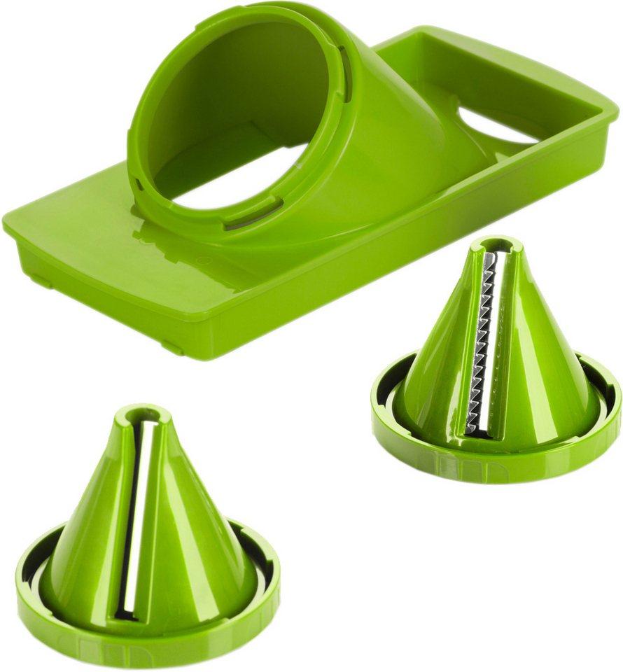 Genius® Nicer Julietti, 3-teilig, passend für Nicer Dicer Plus in grün