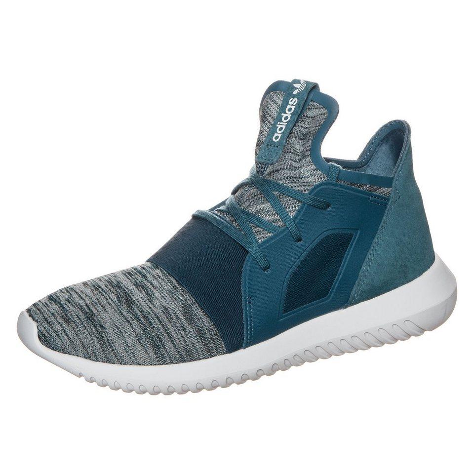 adidas Originals Tubular Defiant Sneaker Damen in blau / grau / weiß