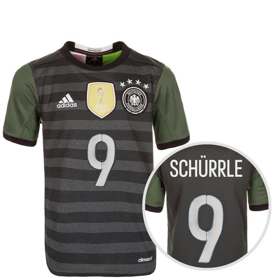 adidas Performance DFB Trikot Away Schürrle EM 2016 Kinder in grau / weiß / grün