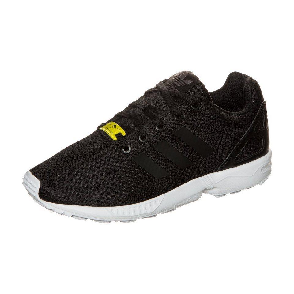 adidas Originals ZX Flux Sneaker Kinder in schwarz / weiß